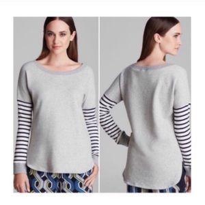 Trina Turk Iona Stripe Sweatshirt